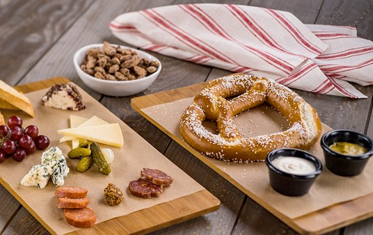 Baseline Tap House in Hollywood Studios, Release Photo, Small Bites (Photo courtesy Disney).