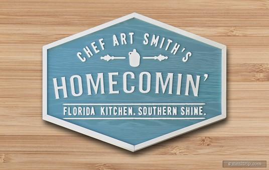 The main Homecomin' sign.