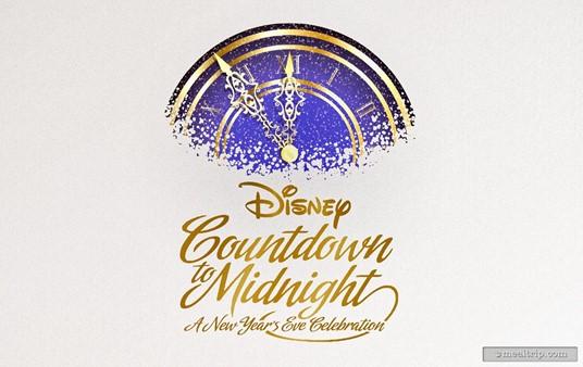 The Disney Countdown to Midnight logo.