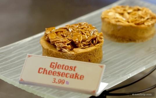Gjetost Cheesecake