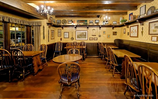 There's several half-booth half-chair tables, and a couple of all-chair tables in the southern most corner of the restaurant.