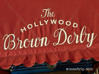 The Hollywood Brown Derby Reviews