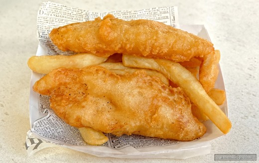 Review photo for Yorkshire County Fish Shop provided by Mealtrip