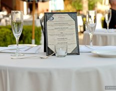 A VIP Reserved Table at Harbor Nights