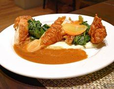 Plated Entree — Chicken Fried Chicken