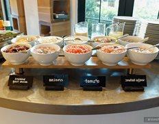 The Omelet Topping Bar
