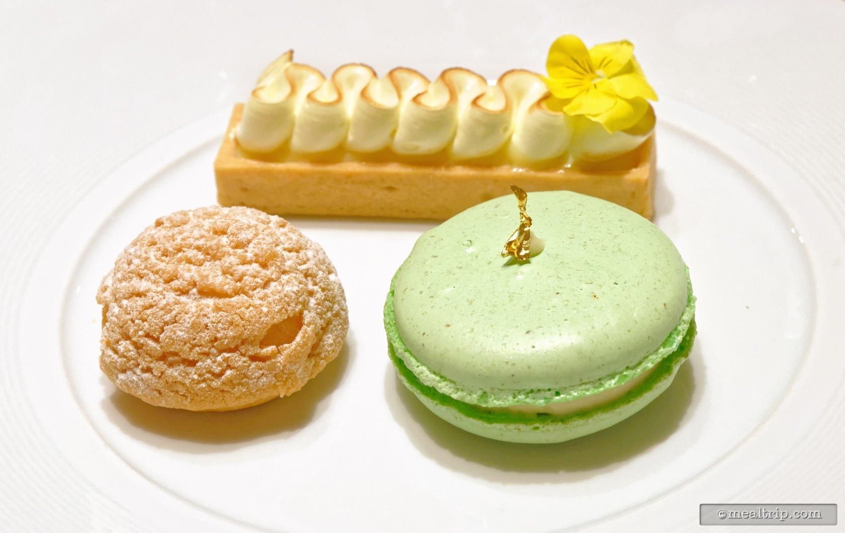Plated Mini Desserts