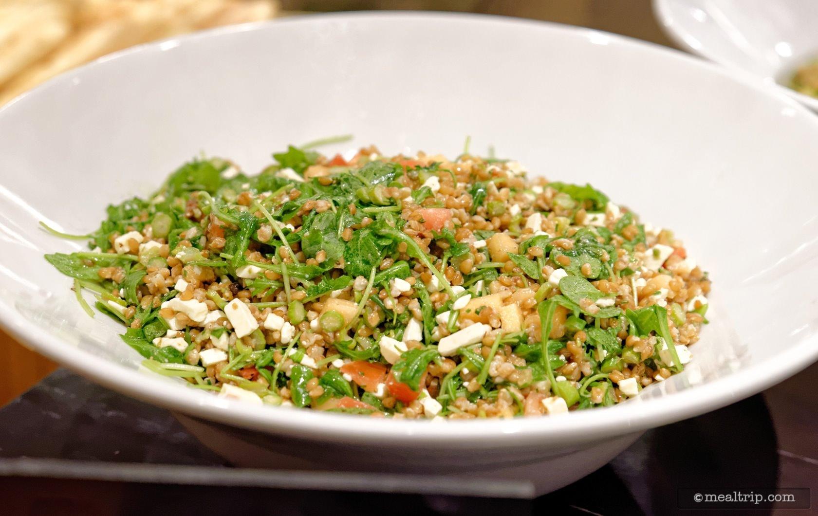 Toasted Farro Salad