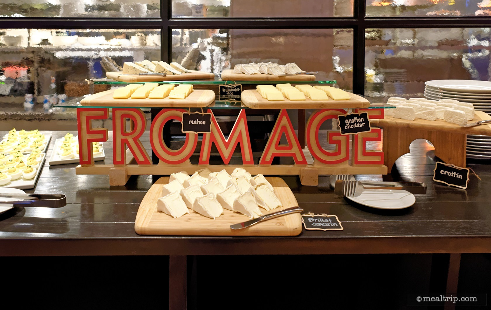 The Fromage Table at Bubbles Brunch