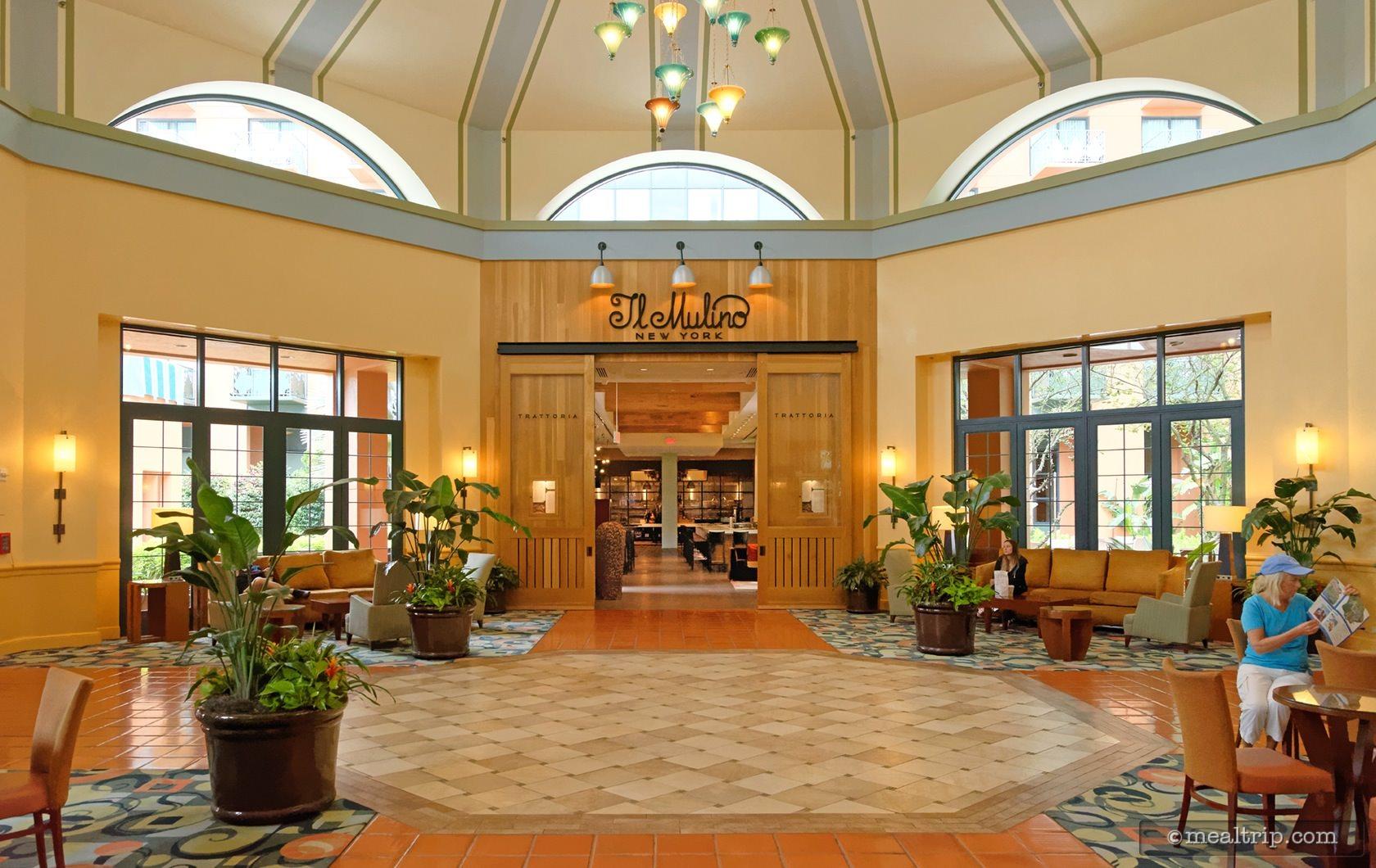 Il Mulino New York Trattoria Main Entrance