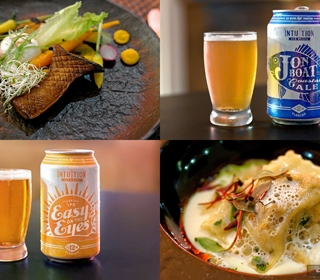 Jake's Beer Dinner - Inuition Ale Works Edition