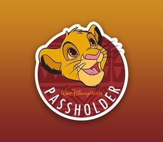 Free Simba Annual Passholder Magnet at Animal Kingdom