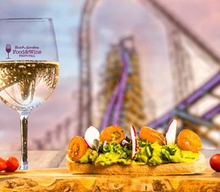 Busch Gardens Food and Wine Menus 2021