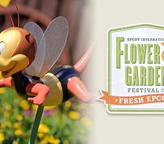 2021 Epcot International Flower & Garden Festival Food Booth Menu Items (Text List)