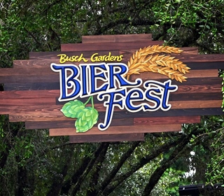 Food & Beer Menu Items for the Busch Gardens, Tampa 2021 Bier Fest (Text List)