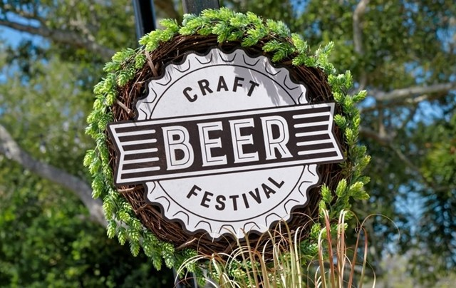 SeaWorld, Orlando Craft Beer Festival Menu Boards with prices for 2021